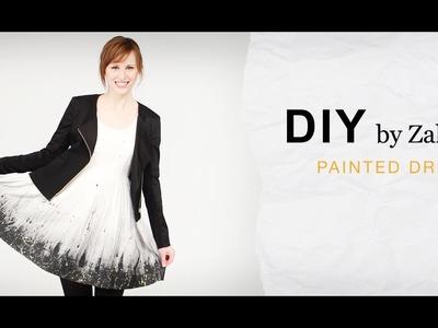 DIY - Graffiti Dress | ZALANDO