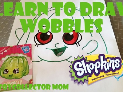 Learn How to Draw Shopkins Wobbles