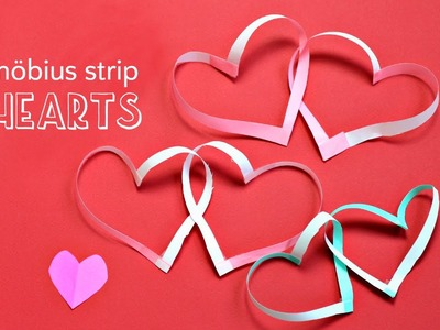 Mobius strip hearts