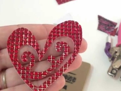 Product Review - Buckle Boutique - Self-Adhesive Rhinestone Sticker Sheets