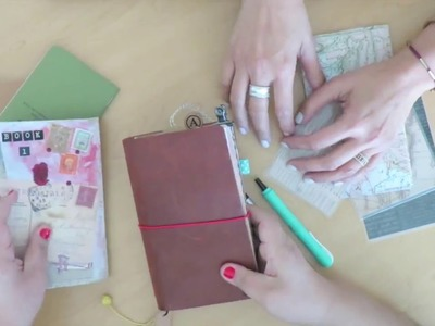 Sojourner Traveler's Notebook with Anahi