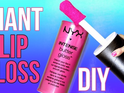 DIY Crafts: How To Make A Giant NYX Lip Gloss - DIYs Storage Idea or Gift Box - Cool DIY Project