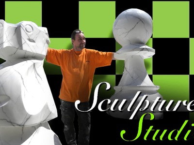 Giant Chess Pieces by Sculpture Studios