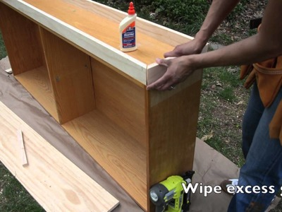 How to Hack a Bookcase : Build Storage on Top - Thrift Diving