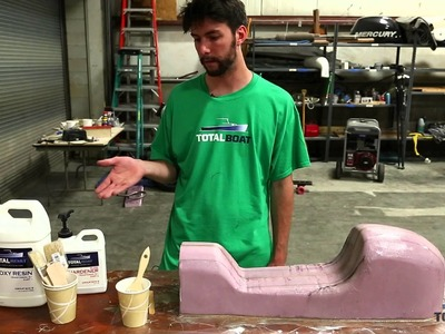 How to Make a Fiberglass Mold from a Plug - Part 2