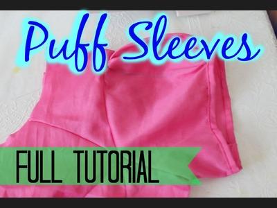 Puff sleeves- Full Tutorial