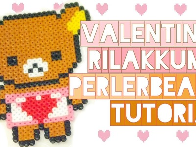 Rilakkuma Valentine's Day | Perler Beads Tutorial