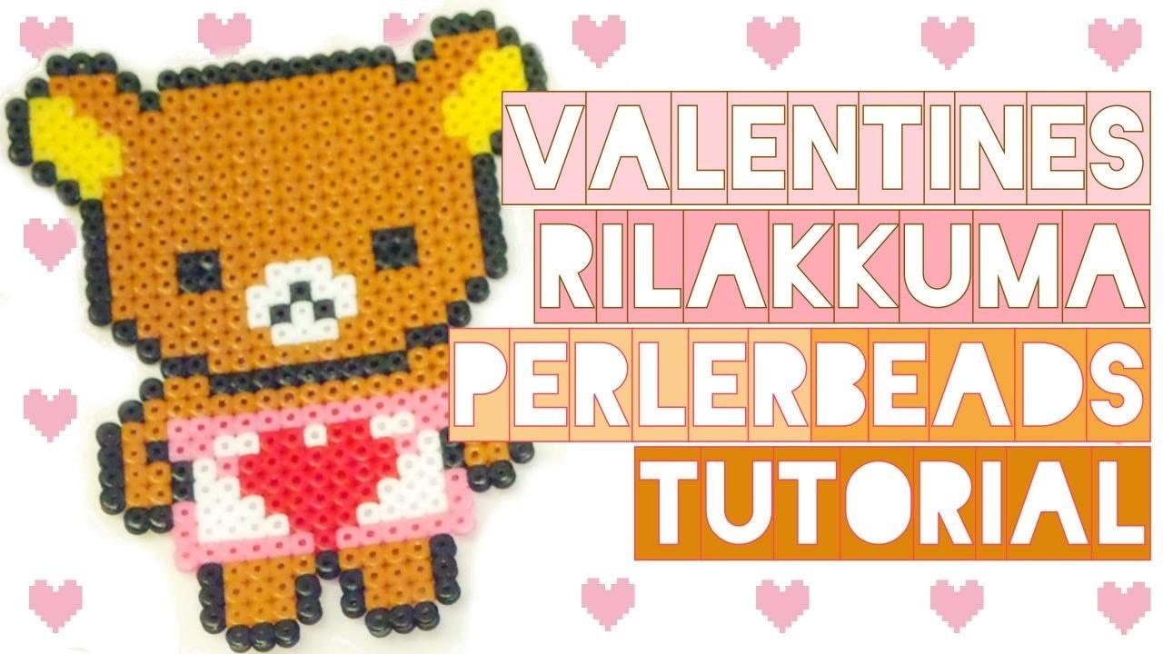 Rilakkuma Valentine's Day | Perler Beads Tutorial