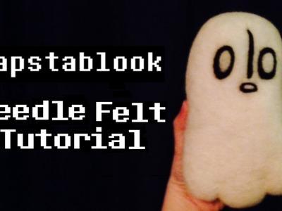 Undertale - Napstablook Needle Felt Tutorial