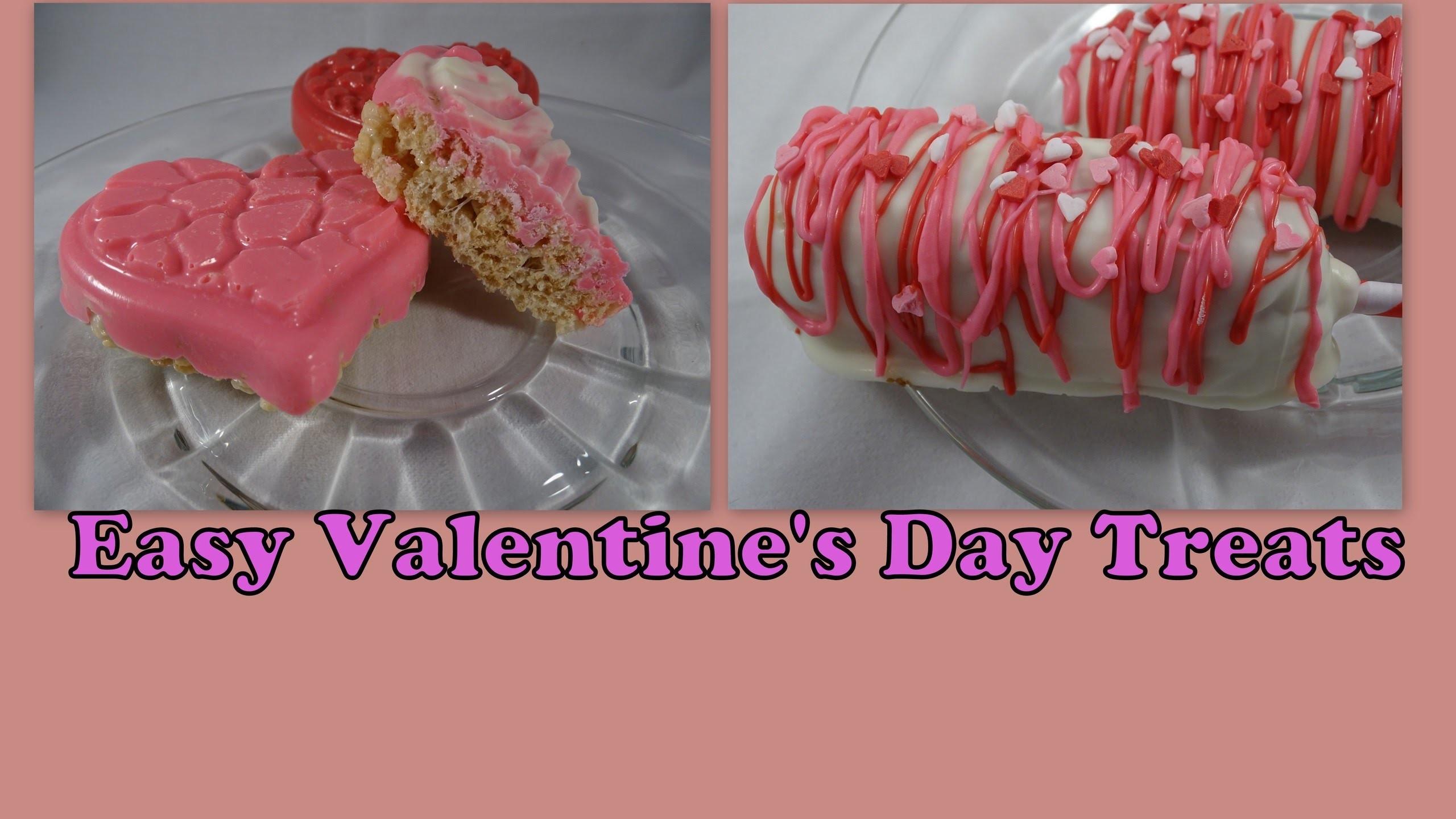 Valentine's Day Twinkie and Rice Krispie Treats- with yoyomax12