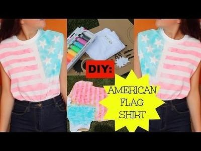 DIY: American Flag Shirt!