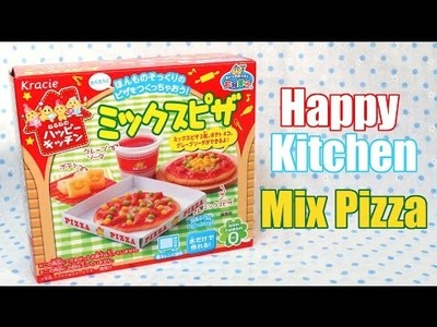 DIY CANDY! HAPPY KITCHEN MIX PIZZA!