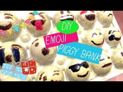 DIY: EMOJI PIGGY BANK