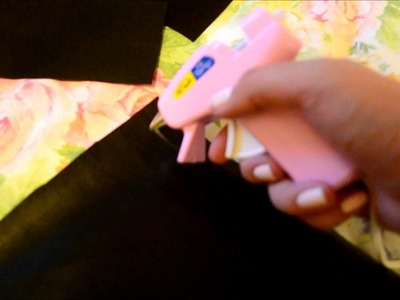 DIY no sew lunch bag