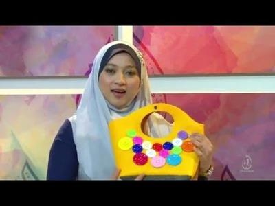 DIY Rose Pillow & Flower Brooch