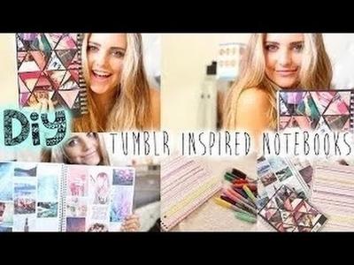 DIY: Tumblr Inspired Notebooks! | Girls Only