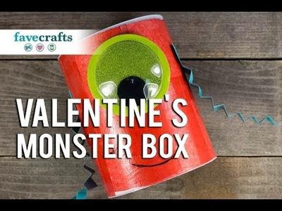Monster DIY Valentine Mailbox