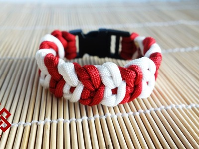 Cupid's Belt Paracord Bracelet Tutorial