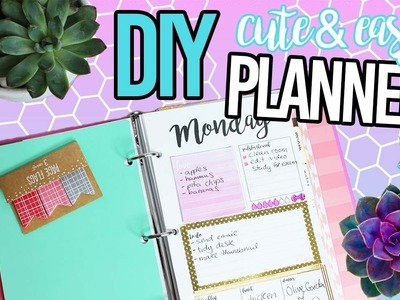 DIY PLANNER AND HOW I DECORATE IT