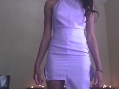 ◑ DIY Sewing Asymmetrical Alien Dress ◑
