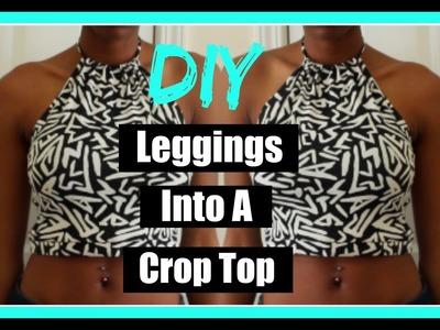 DIY | Turn your leggings into a crop top