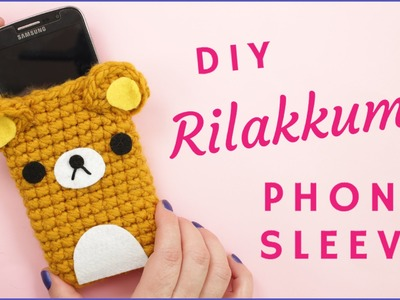 How to Crochet Rilakkuma Phone Sleeve | Step by Step Tutorial for Beginners | Amigurumi Tutorial