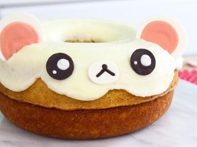 How to Make a Giant Bear. Korilakkuma Donut!