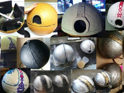 How to make an Orianna ball (League Of Legends Cosplay Tutorial)