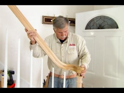 How to Replace a Stair Railing - This Old House