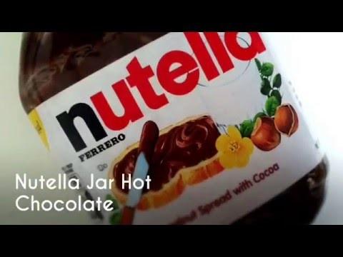 Nutella Jar Hot Chocolate