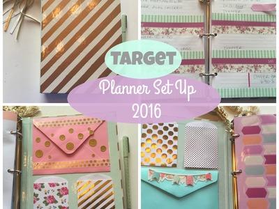 TARGET Planner Set up | 2016