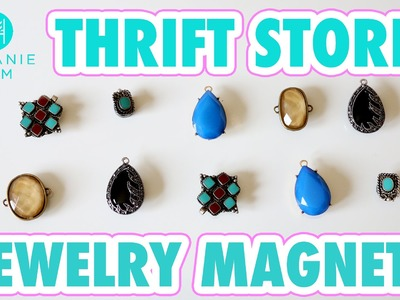 Thrift Store Jewelry Magnets- HGTV Handmade