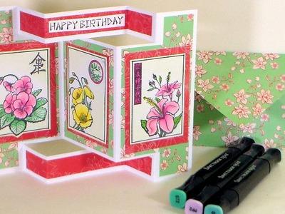 Tri Shutter Card Tutorial. Stamp School