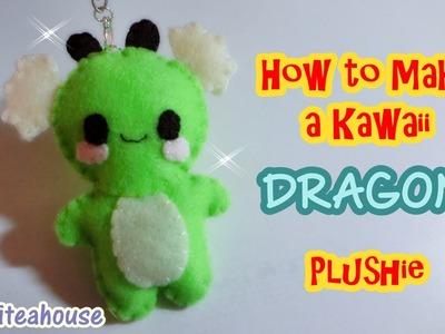 Tutorial~ How to Make a Kawaii Dragon Plushie!