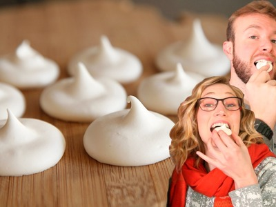 Vegan Meringue Cookies : How to Use Aquafaba (for a Valentine's Day treat!)