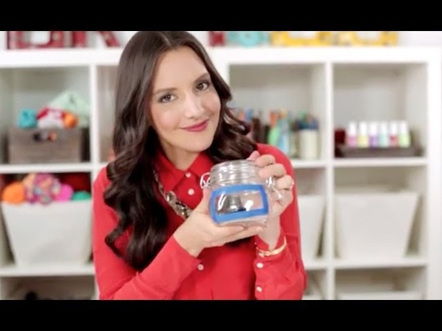 30 Minute DIY: How to Custom Etch Glass Jars