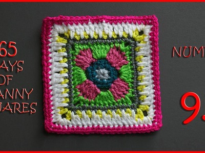 365 Days of Granny Squares Number 93