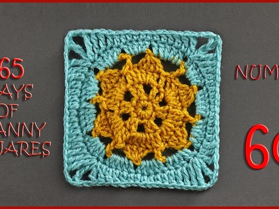 365 Days of Granny Squares Number 60