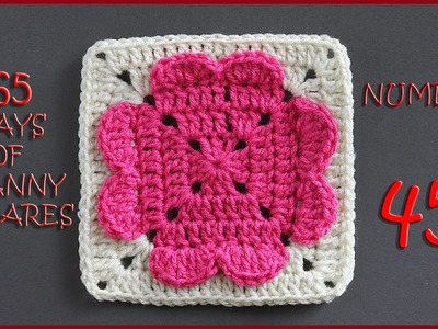 365 Days of Granny Squares Number 45