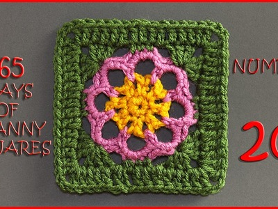 365 Days of Granny Squares Number 20