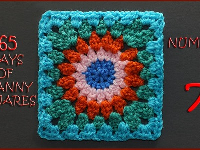 365 Days of Granny Squares Number 7