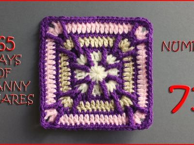 365 Days of Granny Squares Number 71