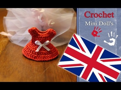 Crochet a Mini Doll's Dress Tutorial