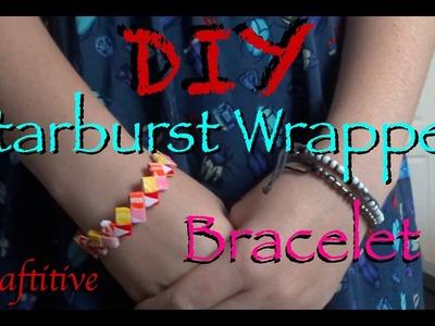 DIY: Easy Starburst Wrapper Bracelet!