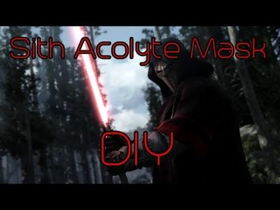 DIY Sith Acolyte Mask Part 1