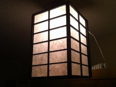 Home Made, japanese lantern, made from garbage