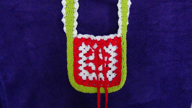 How to Crochet A Granny Square Bag
