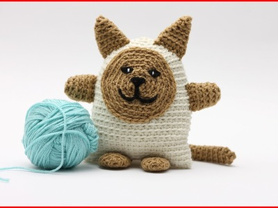 How to Crochet an Amigurumi Cat