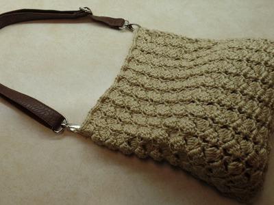 How To #Crochet Handbag Bag Purse #TUTORIAL #309