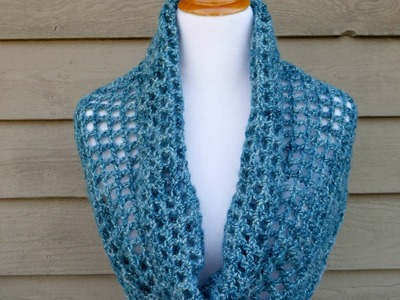 How To Crochet the Ocean Shimmer Capelet Cowl, Episode 295
